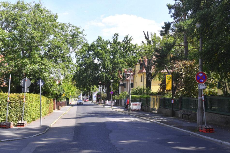 Flick an Flick: So präsentiert sich aktuell die Caspar-David-Friedrich-Straße.