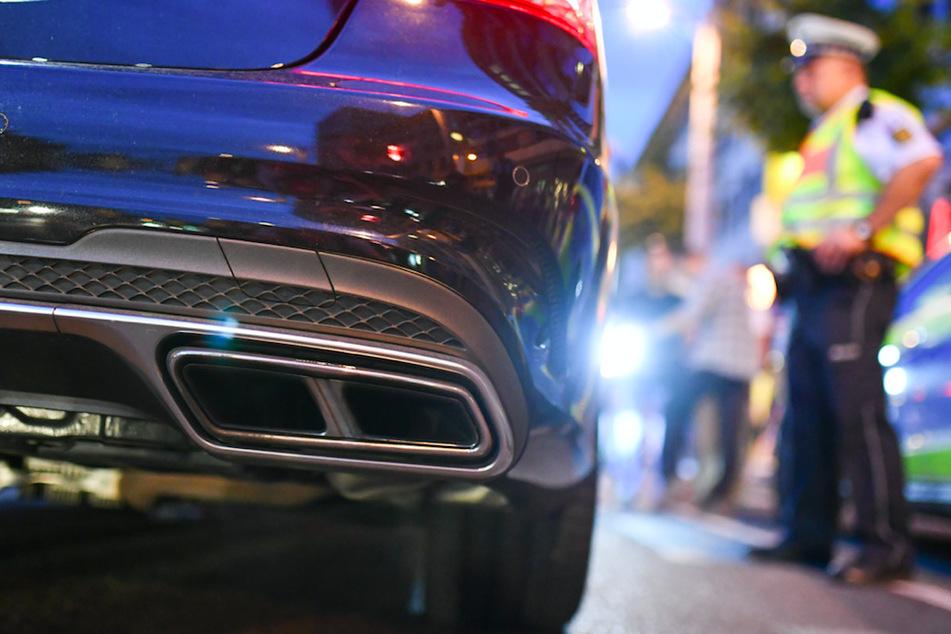Illegales Autorennen mitten durch München: Polizei stoppt Mercedes mit bis zu 140 km/h