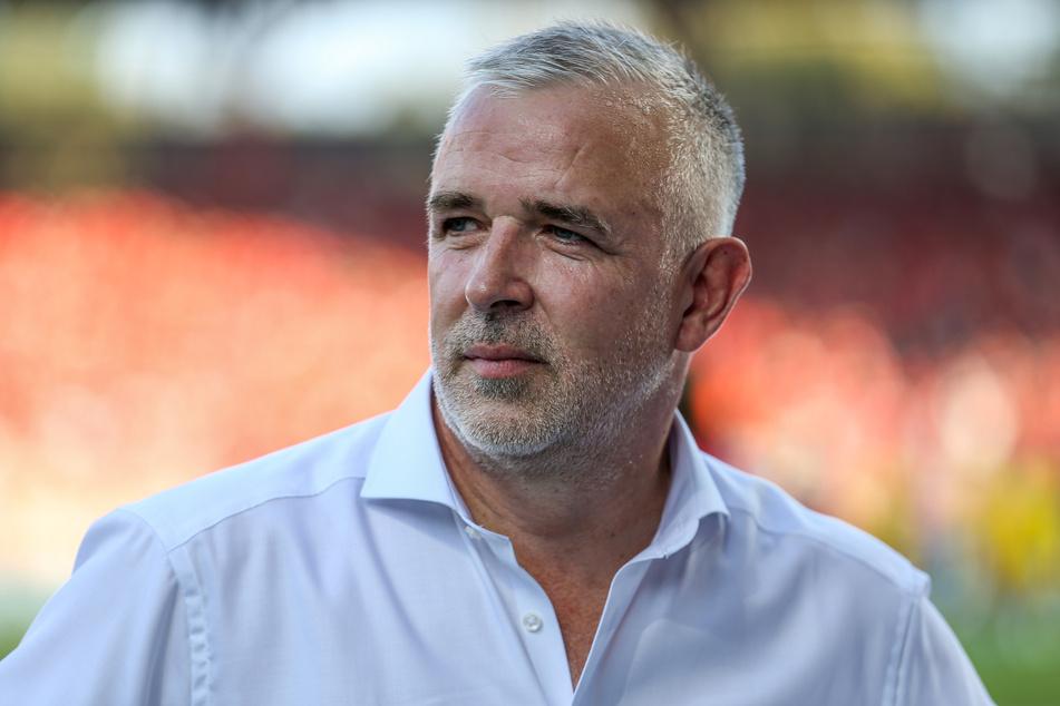 Präsident Dirk Zingler (55) vom 1. FC Union Berlin. (Archivbild)