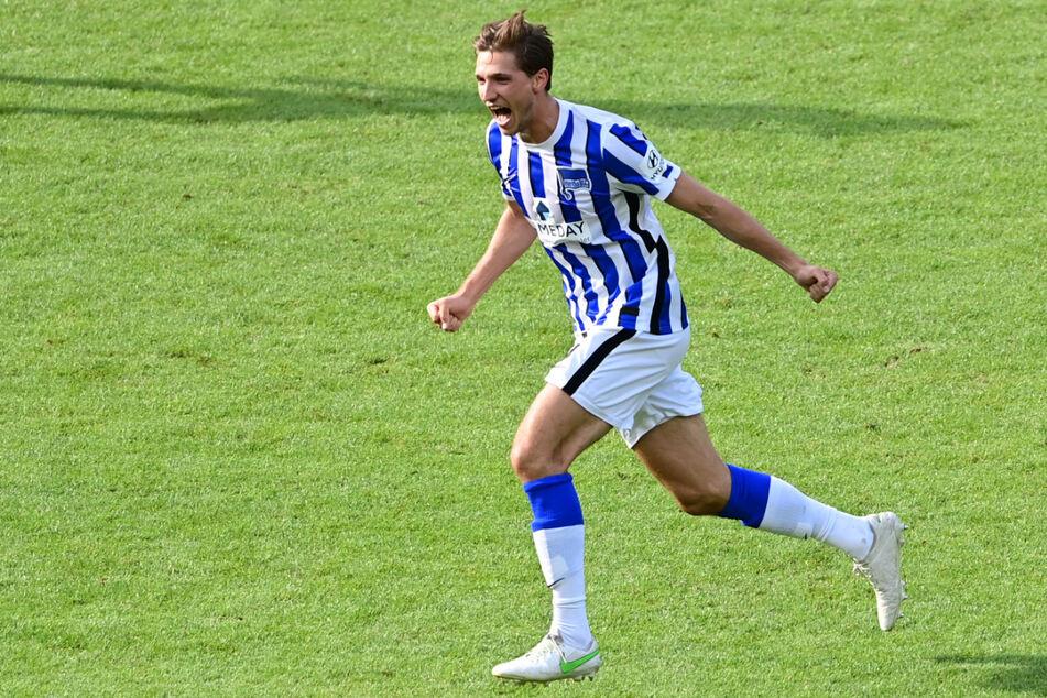 Niklas Stark (26) gehörte in der vergangenen Saison noch zu den wenigen Konstanten bei Hertha.