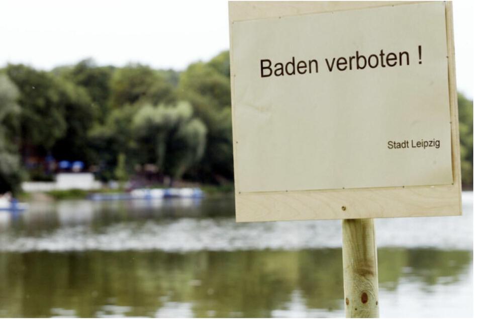 Stadtverwaltung warnt vor gefährlichen Blaualgen in diesem Leipziger See!