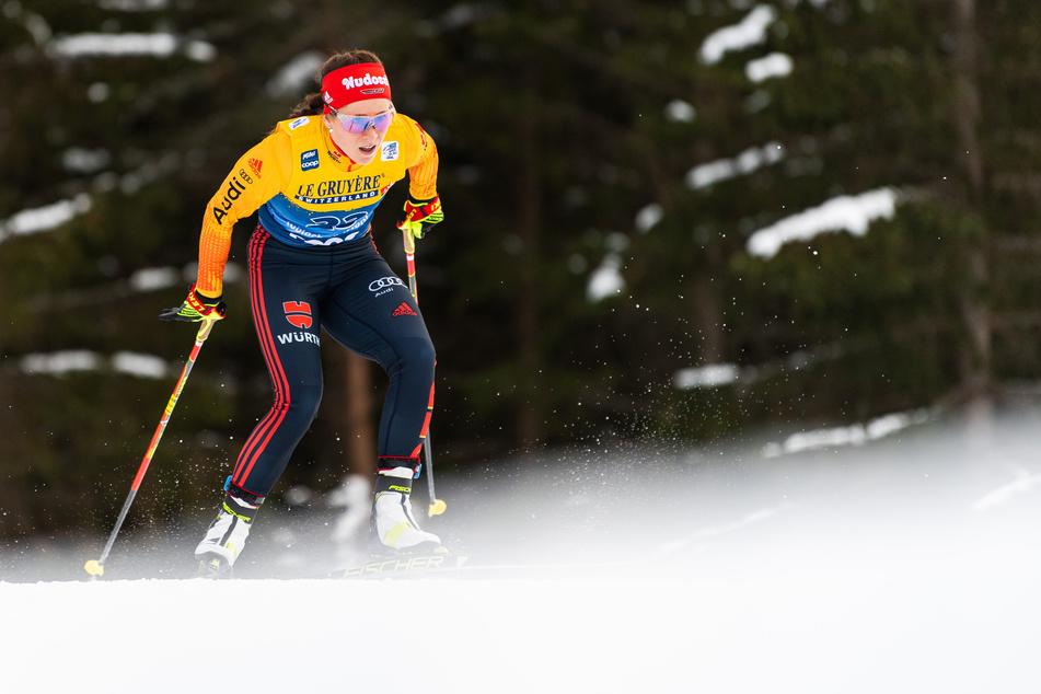 Bei der Tour de Ski schaffte Katharina Hennig (24) bisher drei Top-Ten-Platzierungen.