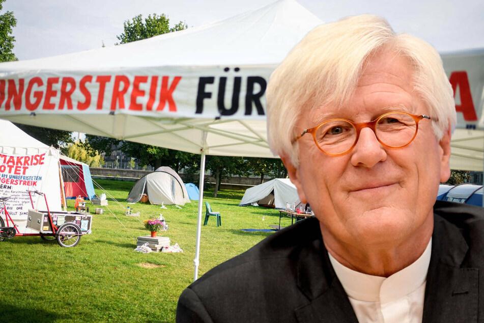 Berlin: Hungern fürs Klima: Evangelische Kirche ruft zum Abbruch auf