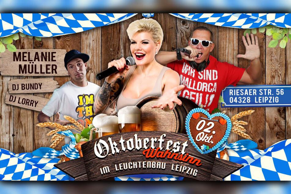 """Stargast beim Oktoberfest-Wahnsinn ist die frischgebackene """"Promi Big Brother""""-Gewinnerin Melanie Müller (33)."""