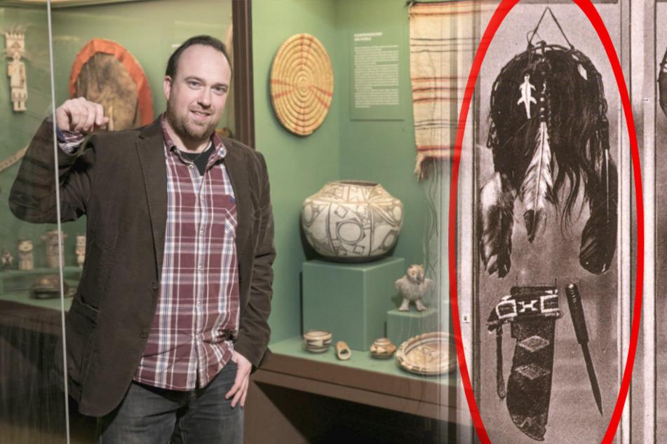 Kriegsbeil begraben! Karl-May-Museum schickt Skalp zurück