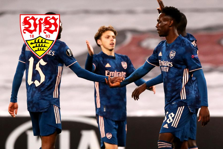 VfB Stuttgart hat offenbar Interesse an Arsenal-Sturm-Juwel