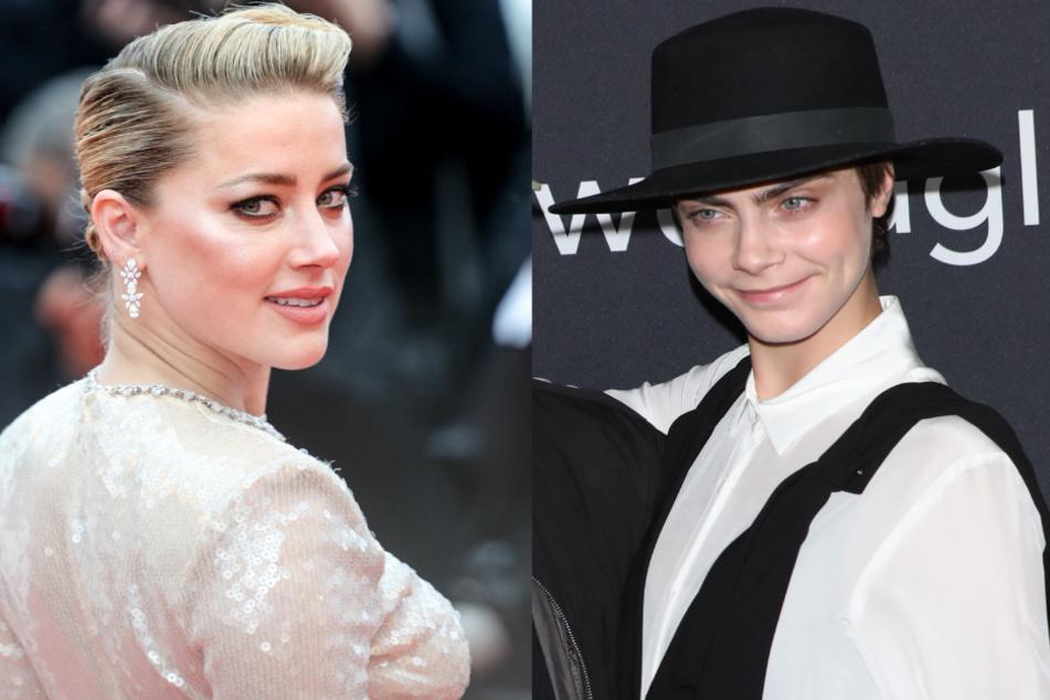 Amber Heard (32) und Cara Delevinge (27) stehen beide offen dazu, dass sie auch Frauen lieben.