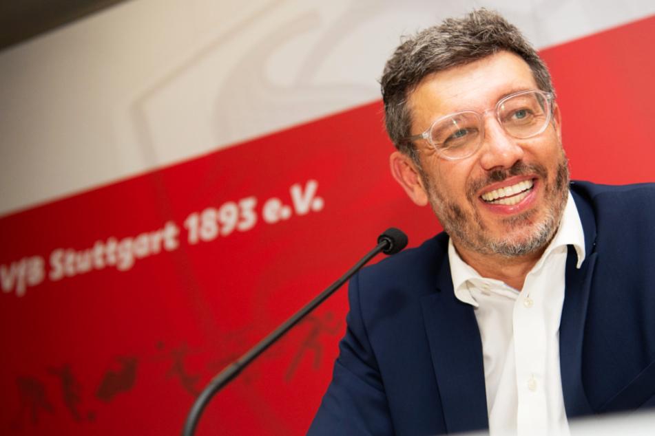 Claus Vogt (51) wird in den kommenden vier Jahren dem VfB Stuttgart als Präsident vorstehen.