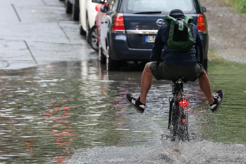 Unwetter-Warnung in Sachsen vor Gewitter, Starkregen und Hagel