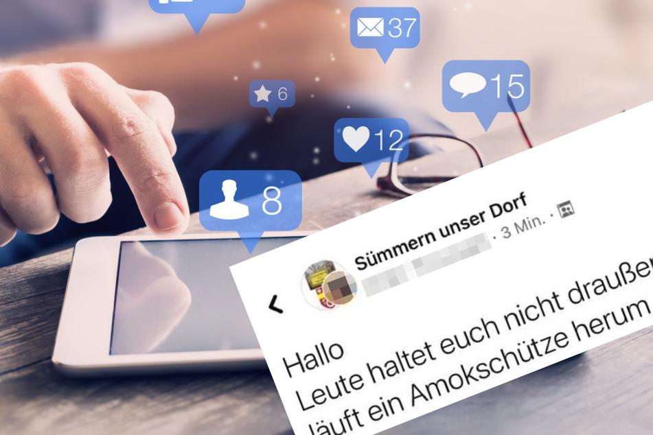 Amoklauf im Sauerland? Polizei warnt vor Fake-News in sozialen Kanälen