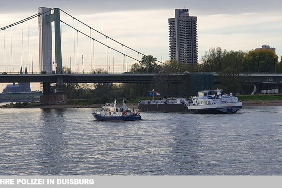 Köln: Tanker mit 800 Tonnen Alkohol steckt im Rhein fest!