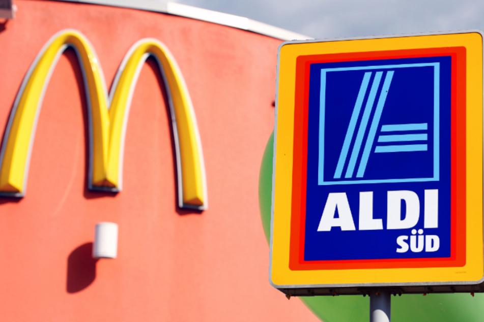 Konserven statt Burger: McDonald's schickt seine Mitarbeiter zu Aldi