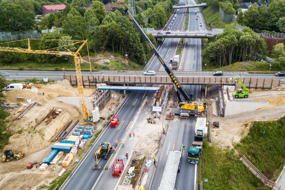 Wichtige Ostsee-Strecke dicht: A1 am Wochenende voll gesperrt!