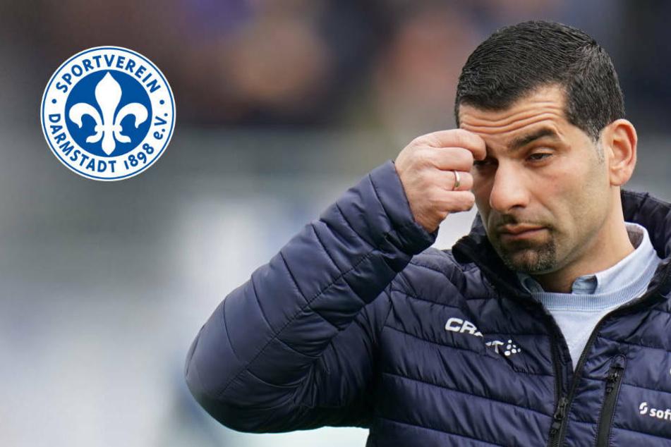 """Lilien-Coach Grammozis erwartet Reaktion: """"Spieler müssen sich mehr pushen"""""""