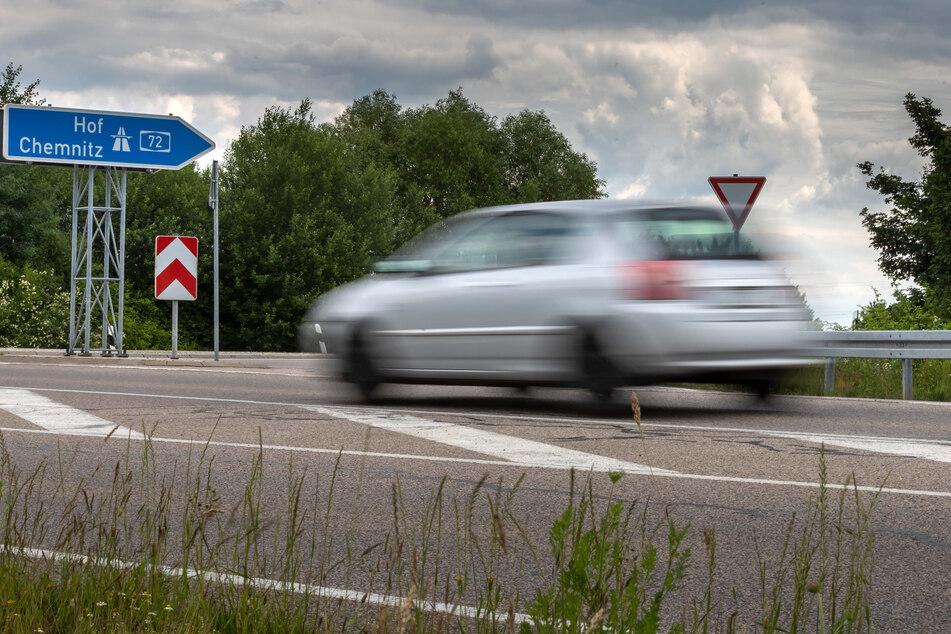 Die Auffahrt zur A72 in Röhrsdorf wird nächste Woche gesperrt.