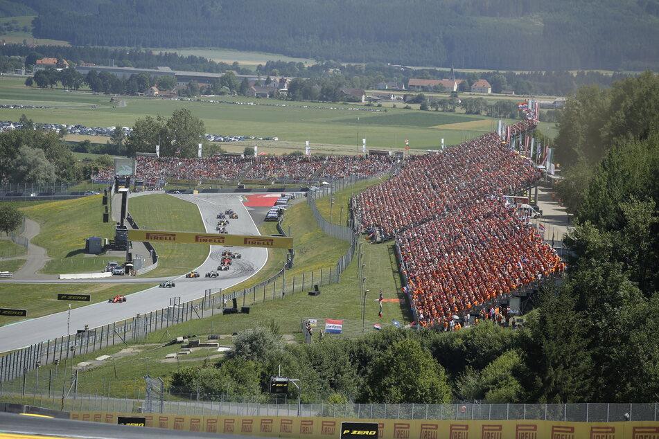 Motorsport: Formel-1-Weltmeisterschaft, Grand Prix von Österreich, in Spielberg.
