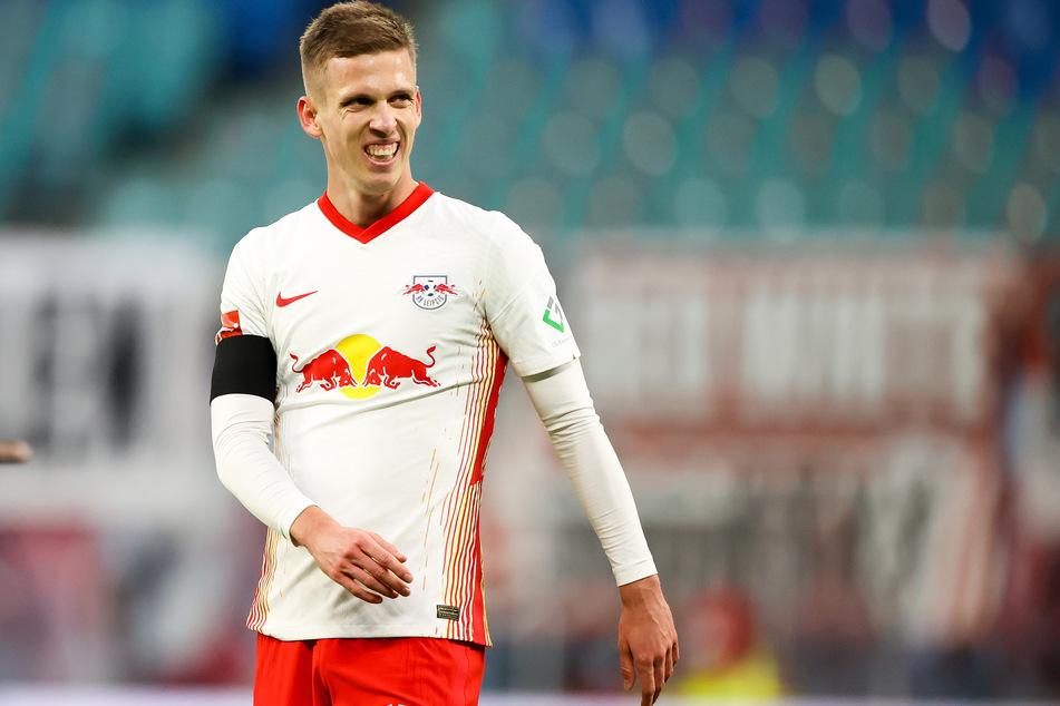 RB Leipzigs Dani Olmo (22) war beim 6:0-Sieg der Spanier gegen Deutschland einer der besten Spieler auf dem Feld. Trotzdem hält er die DFB-Auswahl für einen Titelanwärter.