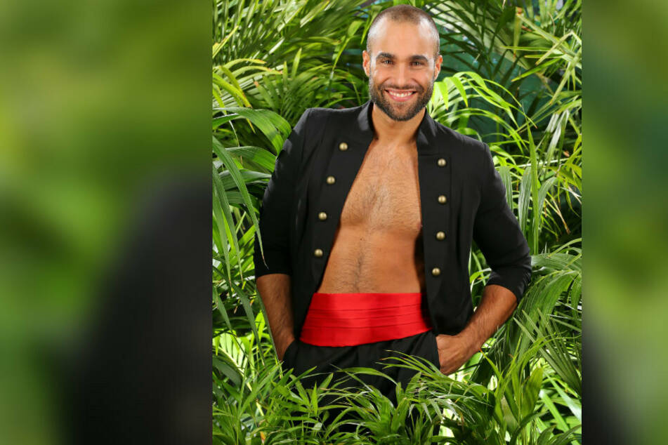 David Ortega (36) 2016 mit raspelkurzen Haaren im Dschungelcamp.