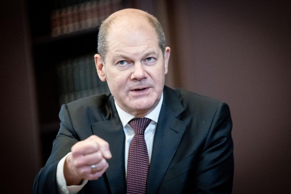 Bundesfinanzminister Olaf Scholz (62, SPD) kündigt Hilfen für die Kulturbranche an.