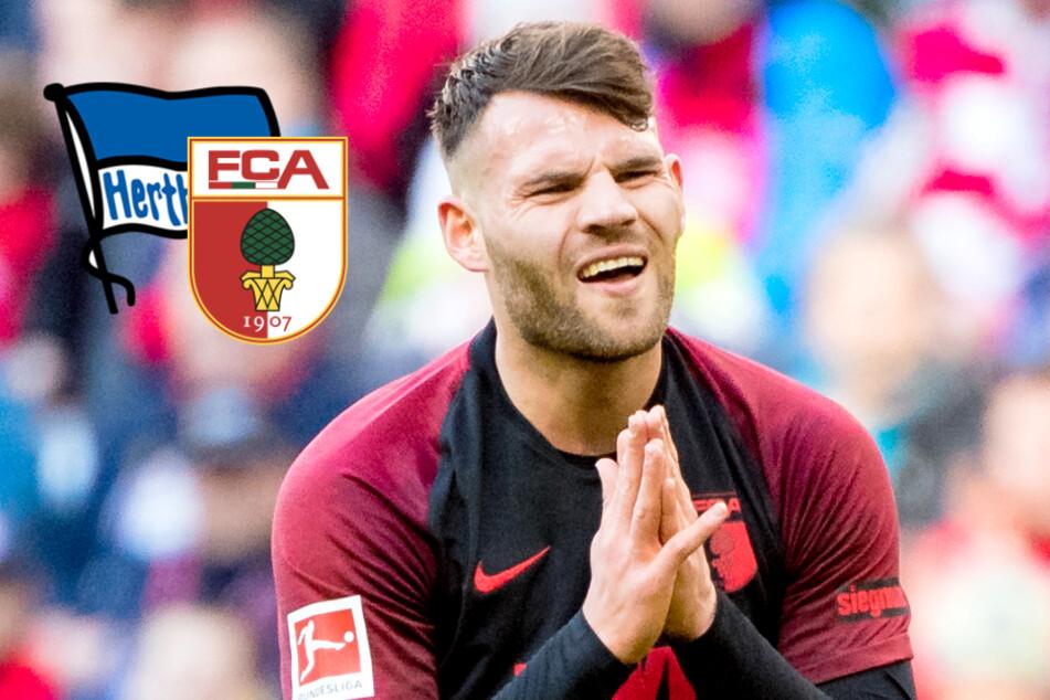 Bleibt Hertha-Leihspieler Löwen in Augsburg?