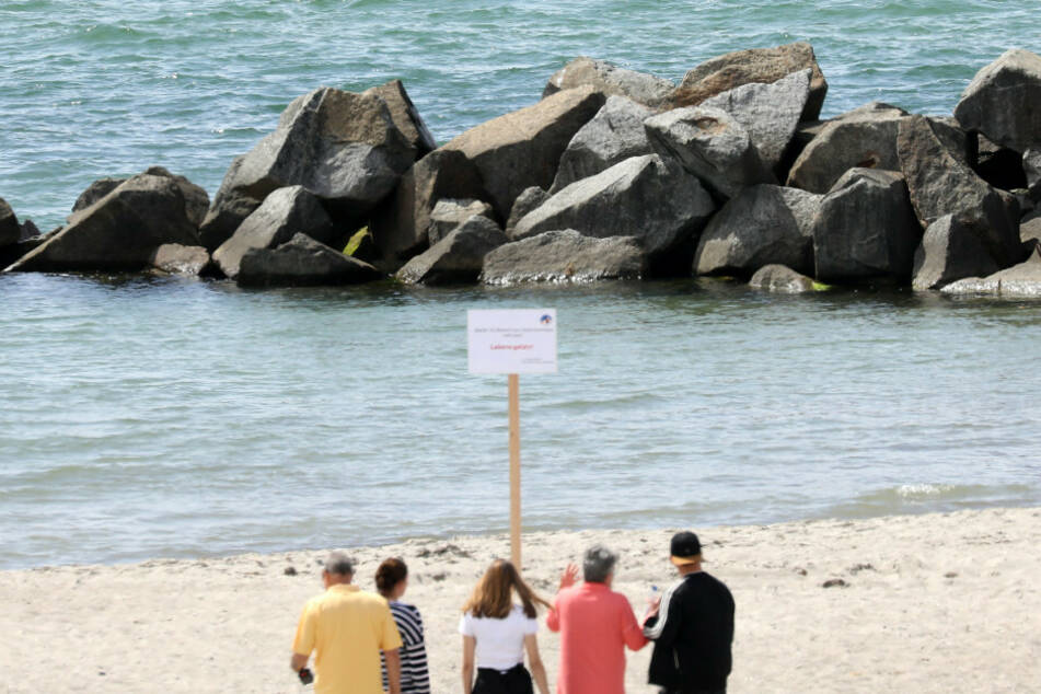 Eine 85-Jährige ist in der Ostsee ertrunken. (Symbolbild)