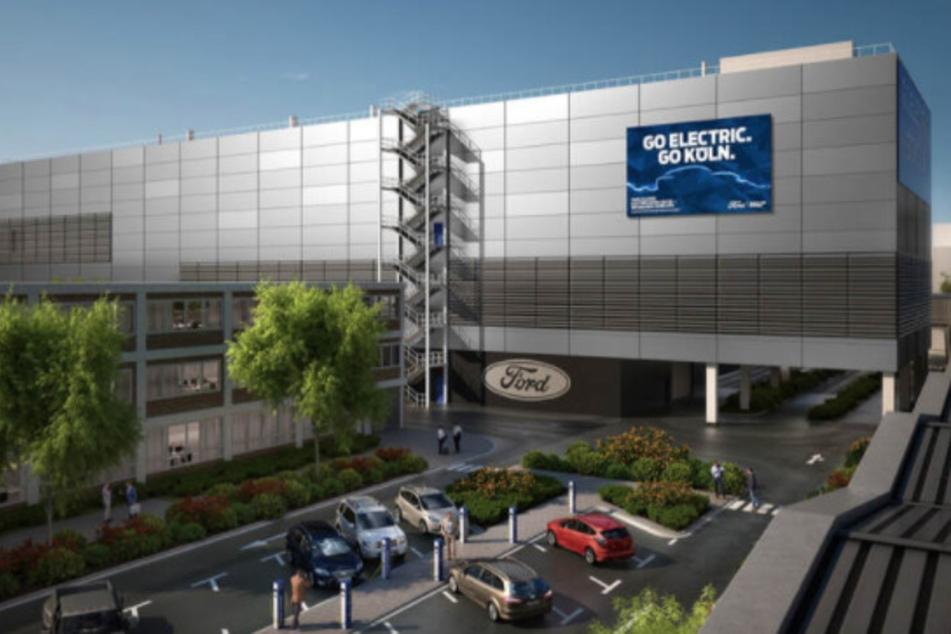So soll die künftige Werkhalle auf dem Ford-Gelände in Köln-Niehl aussehen.