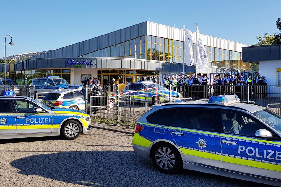 Nach Eskalationen im Düsseldorfer Rheinbad: Nur zwei Täter ermittelt!
