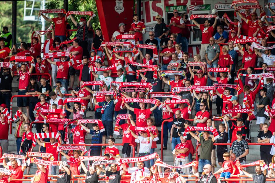 Die 2000 Fans im Stadion An der Alten Försterei sorgten für Stimmung.