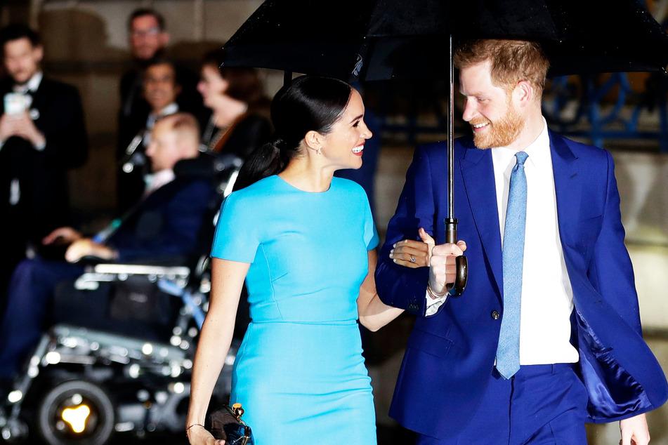 Prinz Harry und Herzogin Meghan sind zurück in London! Nur warum?