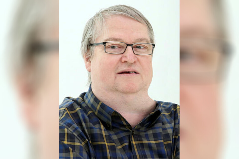 Wolfgang Rau (65), langjähriger Fraktionschef der Grünen in Zwickau.