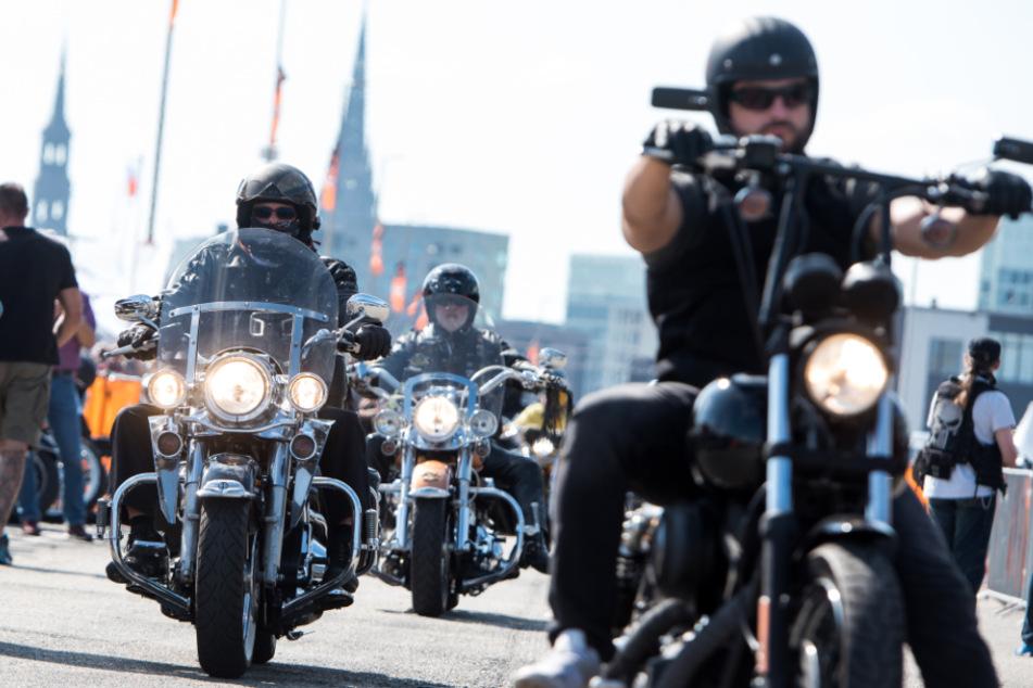 Normalerweise kommen hunderttausende Besucher zu den Hamburger Harley Days. (Archivbild)