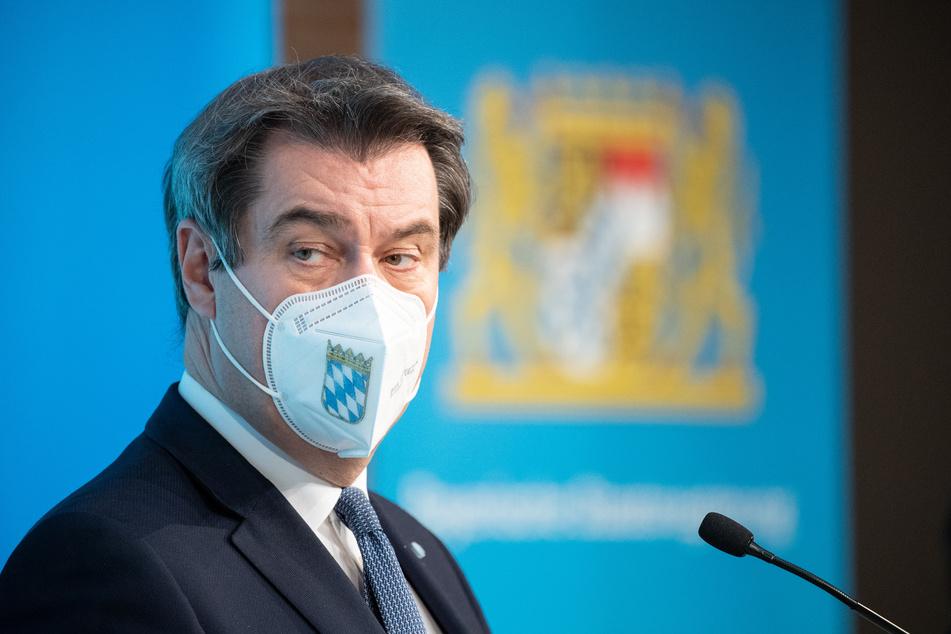 Markus Söder (54), CSU-Parteivorsitzender und Ministerpräsident von Bayern, verkündet, dass Tschechien nun auch zum Virusvarianten-Gebiet werden soll.