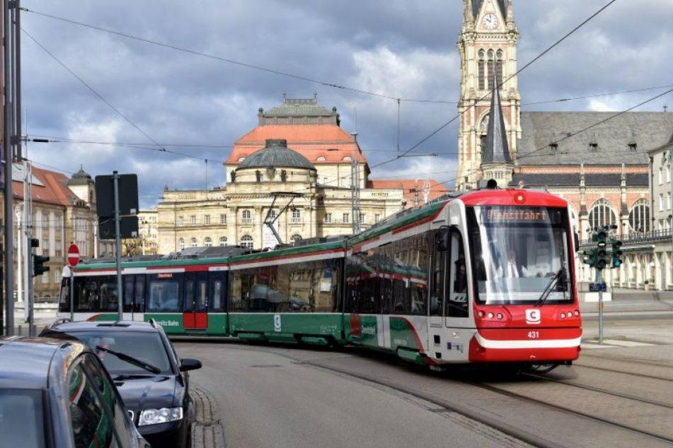 Die erste Fahrt mit der Chemnitzer Vorzeigebahn