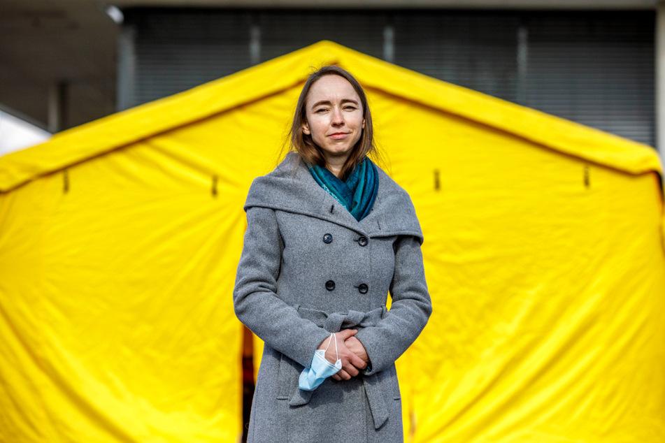 Gesundheitsbürgermeisterin Dr. Kristin Klaudia Kaufmann (43).