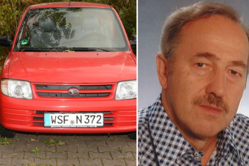 Vermisstenfall aus Mitteldeutschland: Hartmut ist wie vom Erdboden verschluckt