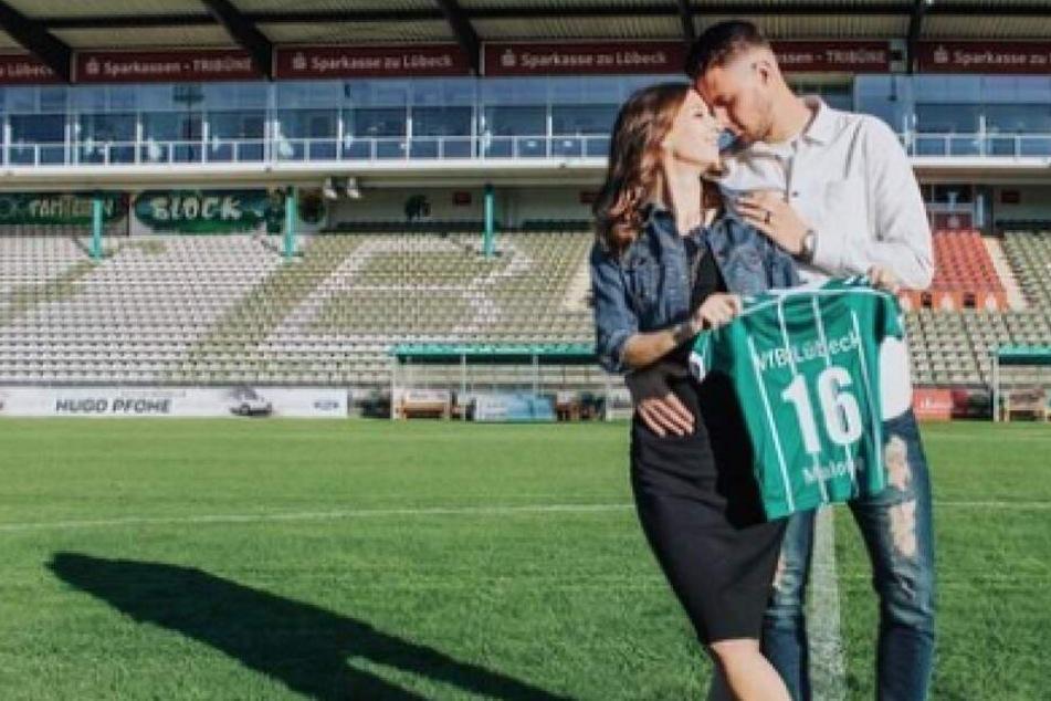 """""""Unsere Familie wächst"""": Ex-Lok-Kicker Ryan Malone wird Papa!"""
