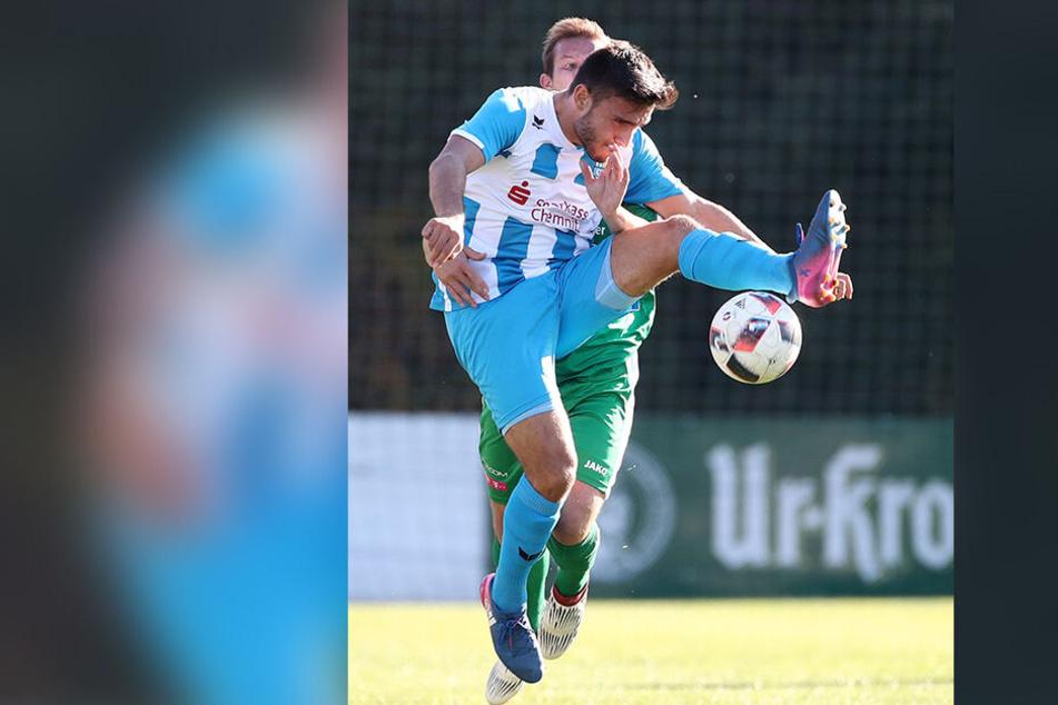 Auch Ioannis Karsanidis plagt sich mit einer Verletzung rum.