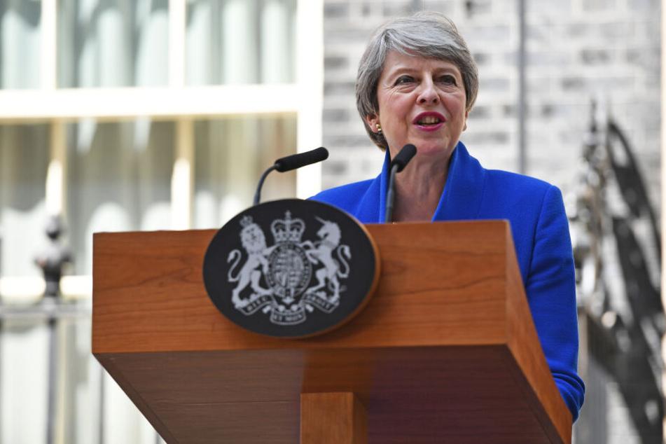 Theresa May scheiterte mehrfach mit einem Austrittsabkommen im Paralament.