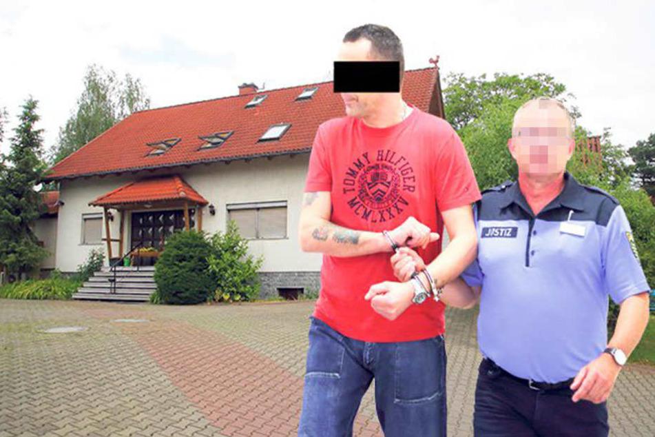 Gar nicht nett: Im sündigen Clubhotel zu Radebeul soll Alexander W. (43) geklaut haben.