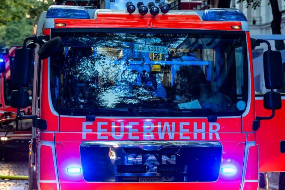 Die Feuerwehr rückte an. (Symbolbild)