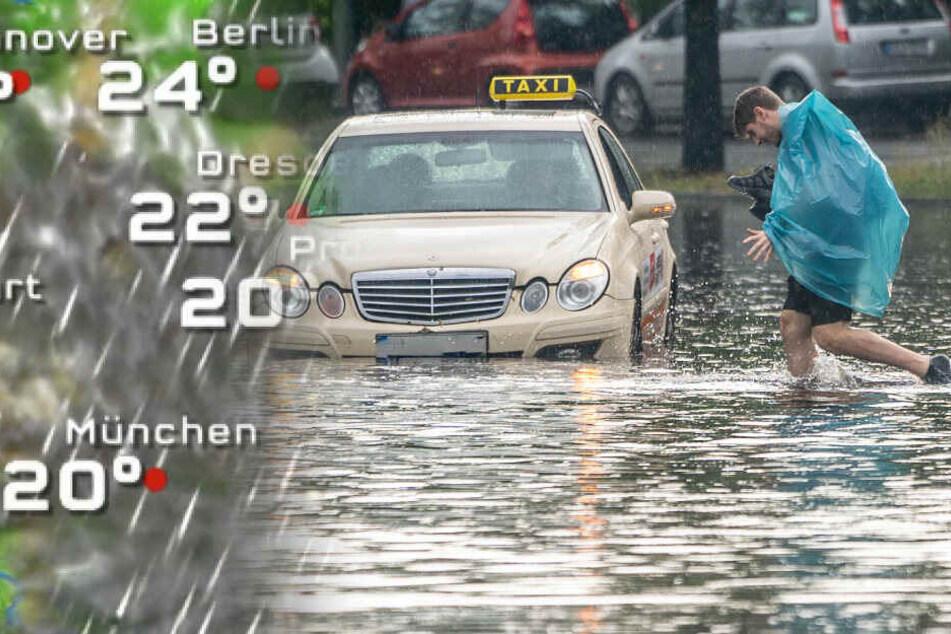Nach heftigem Unwetter: Berlin erwartet neue Gewitter!