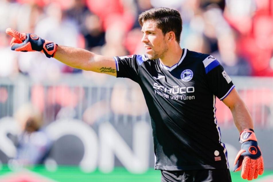 Stefan Ortega steht auch gegen Holstein Kiel wieder im Kasten des DSC.