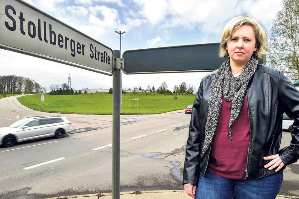 Stadträtin Solveig Kempe (36, CDU) fürchtet mehr Verkehr im Wohngebiet.