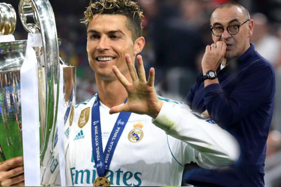 Ronaldo-Hammer: CR7 zurück zu Real Madrid? Verhältnis zu Juve-Trainer zerrüttet