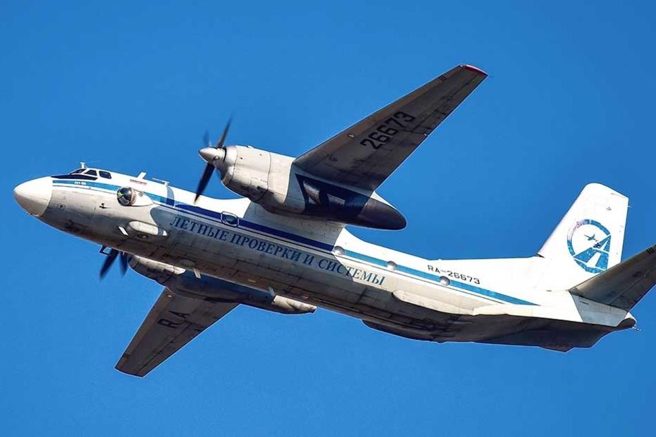 Ein russisches Transportflugzeug ist in Syrien abgestürzt (Symbolbild).