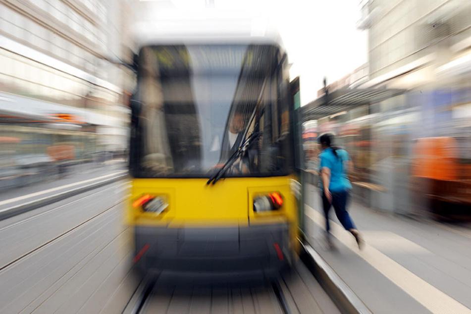 Der Vorfall ereignete sich auf der Straßenbahnlinie M1. (Symbolbild)