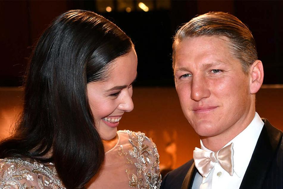 Ana Ivanovic (31) und Bastian Schweinsteiger (35)