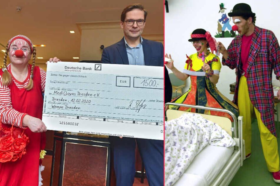 Donnerstags wird gelacht! Klinik-Clowns rühren kranke Kinder zu Freudentränen