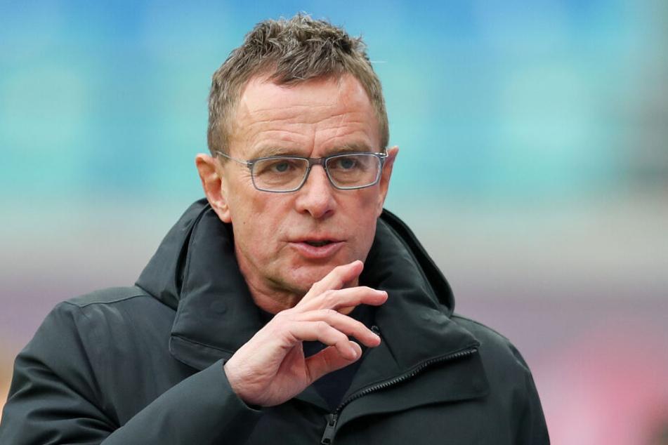 """RB-Trainer Ralf Rangnick erwartet am Dienstag einen """"echten Pokalfight""""."""