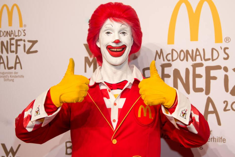 Bei der Gala wird Geld für die McDonald's Kinderhilfe Stiftung gesammelt. (Archivbild)